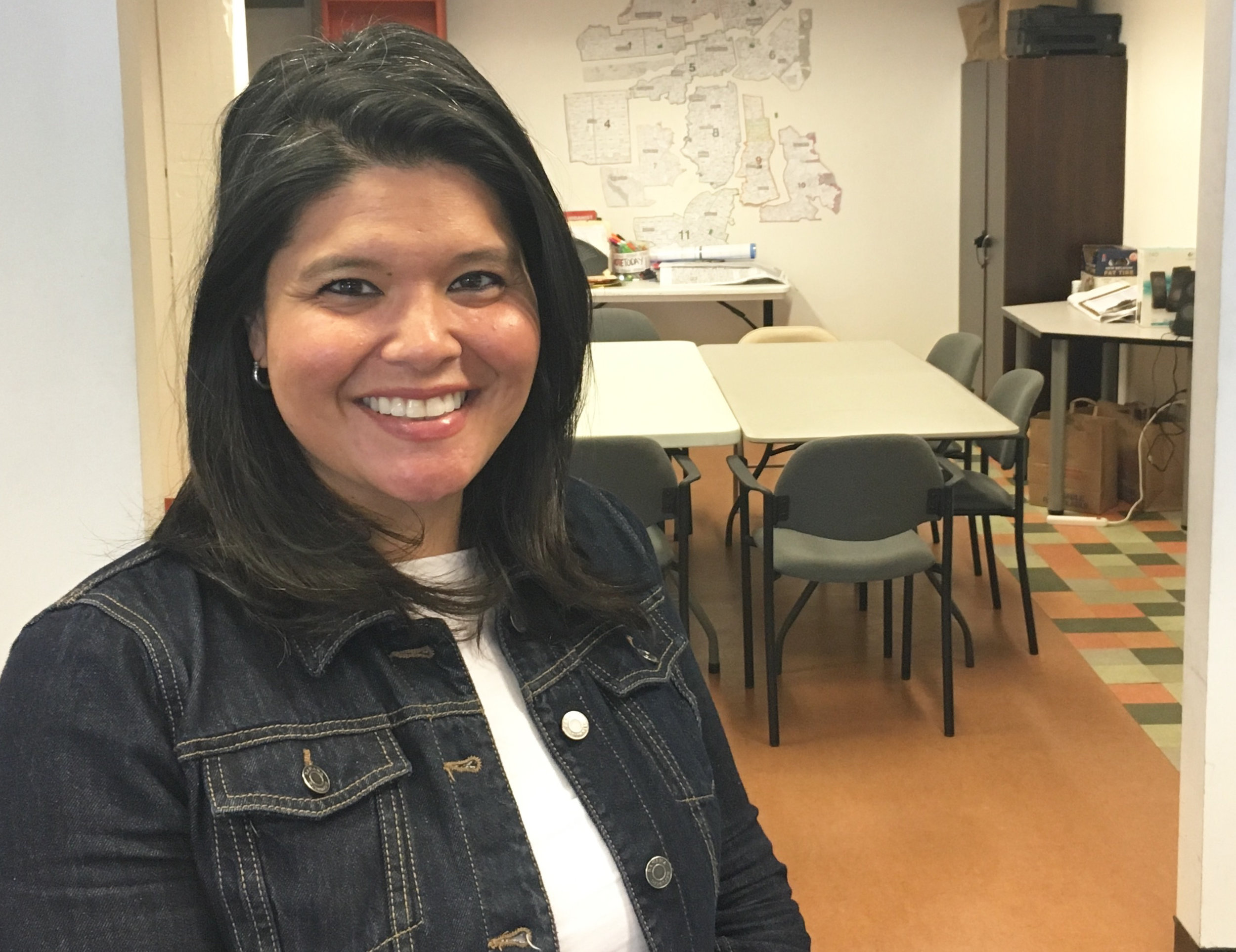 Marjan Philhour, the new executive director of the rebranded Community Alliance for Jobs and Housing.