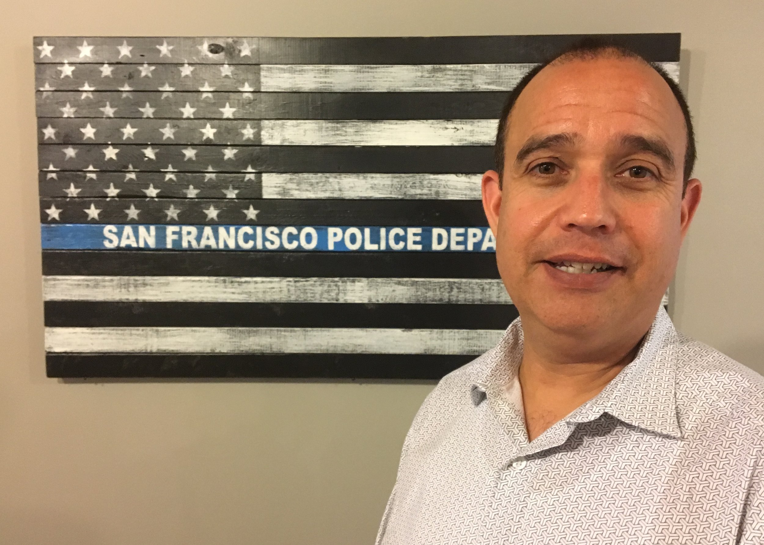 Tony Montoya is the first openly gay leader of the San Francisco Police Officers Association, 42 years after the police union declared gay people unfit to serve.