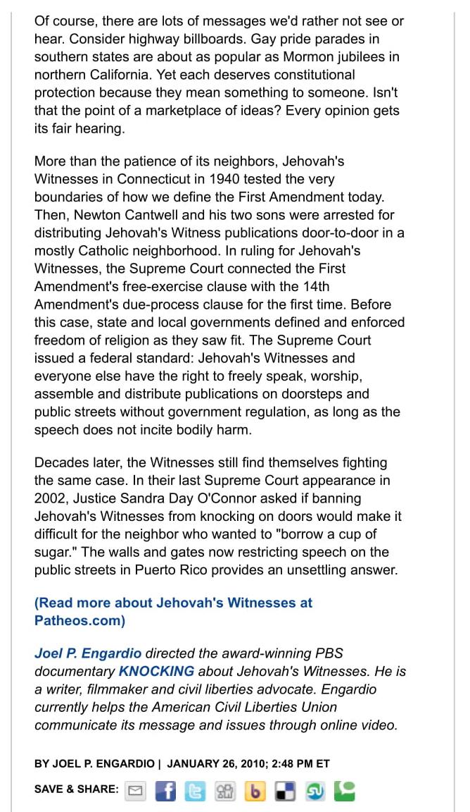WashPost Puerto Rico JW Ban Jan26_2010b.jpg