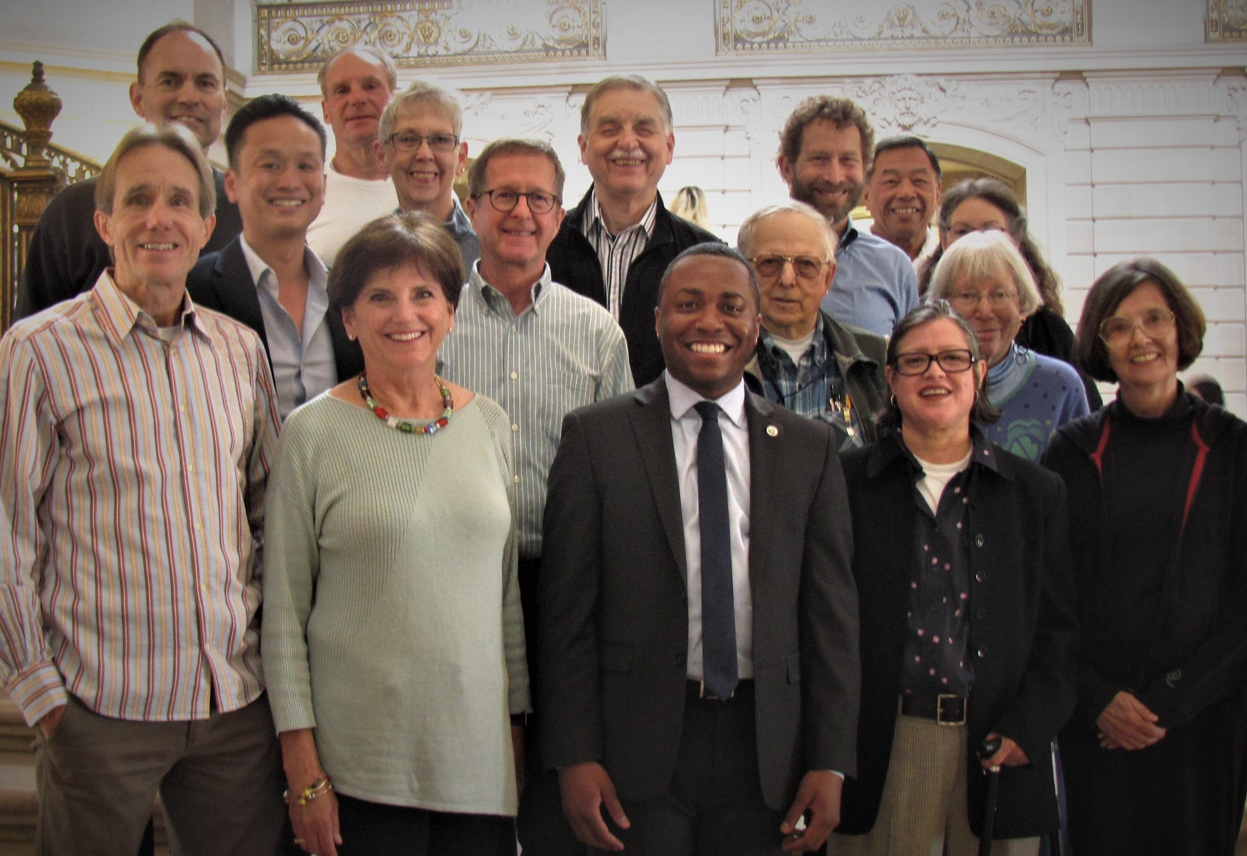 The 2019 San Francisco Civil Grand Jury. Photo courtesy Janet Andrews Howes.
