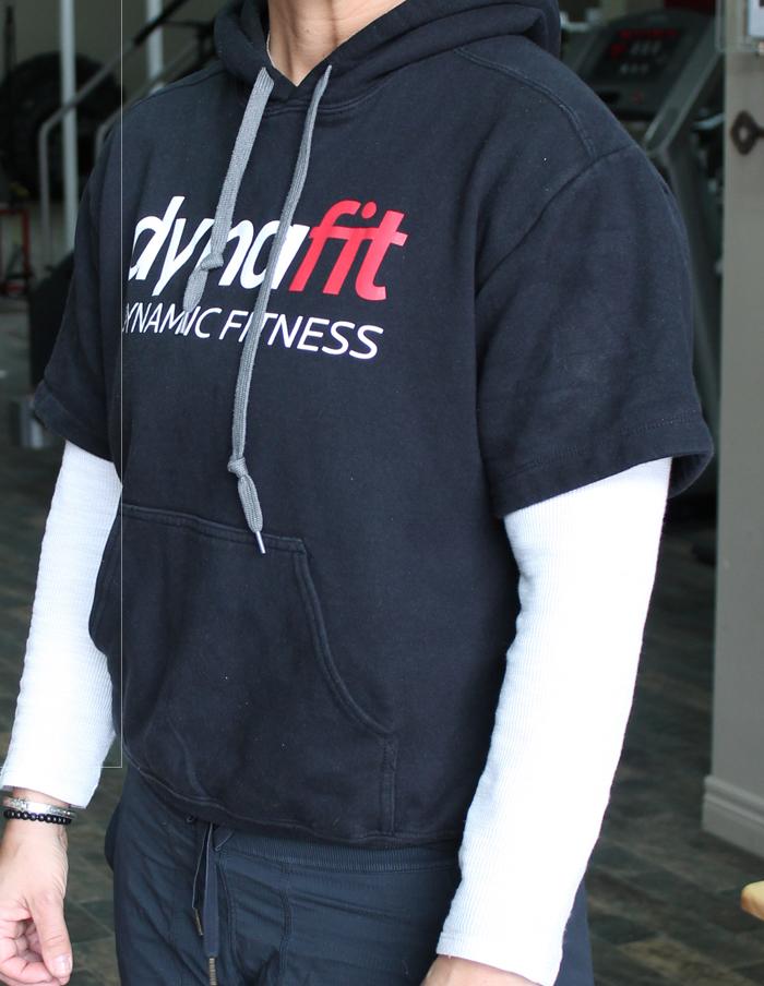 Dynafit Short Sleeve Hoodie - Black