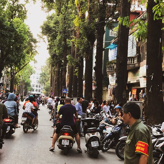 Had fun playing tourist in 🇻🇳Hanoi in between work the past week. What a place, definitely want to come back for @f1 2020! #Hanoi #Vietnam