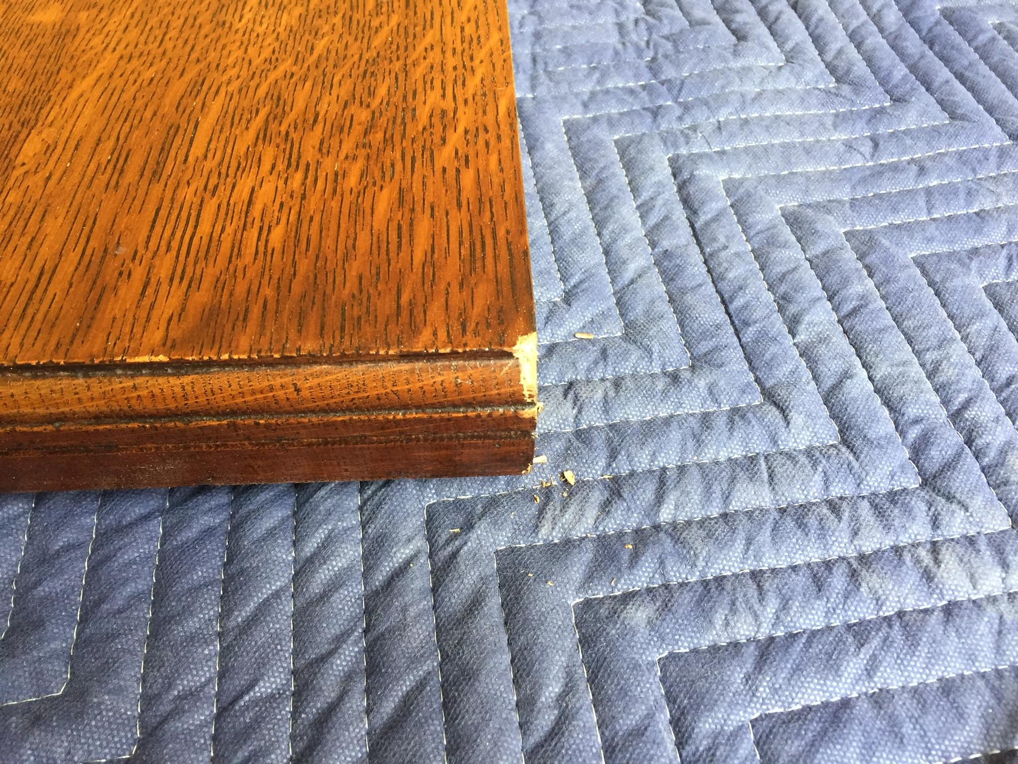 - Table leaf damage