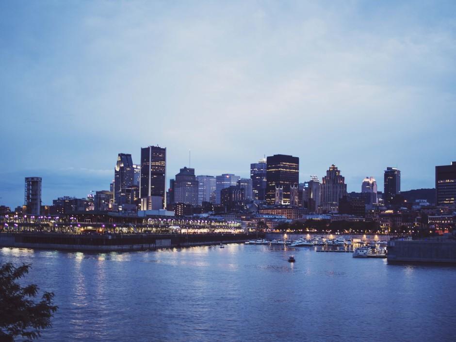 Montréal vue du Parc Cité-du-Havre