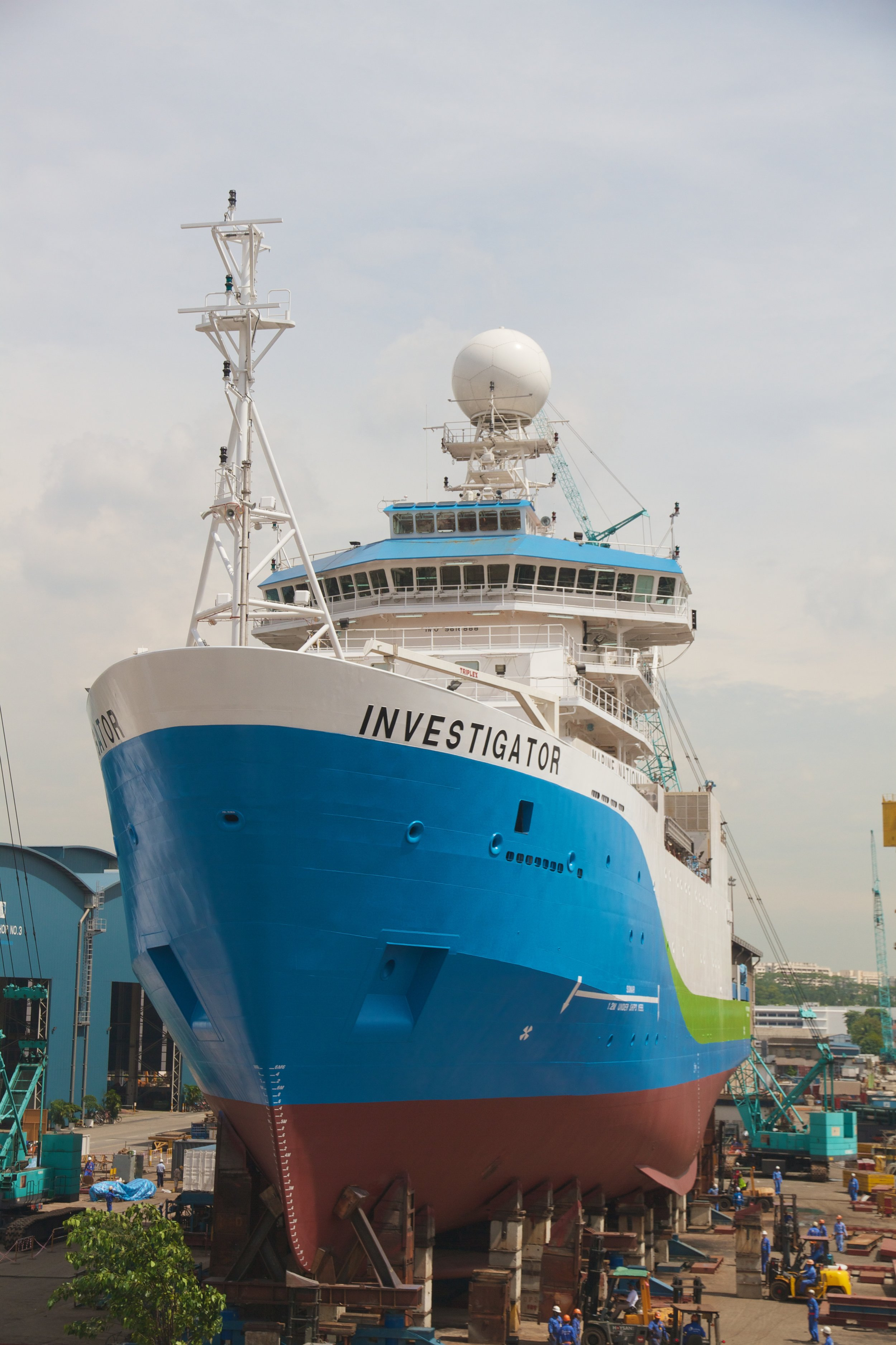 Weather Radar Installed Upon CSIRO's RV Investigator Vessel