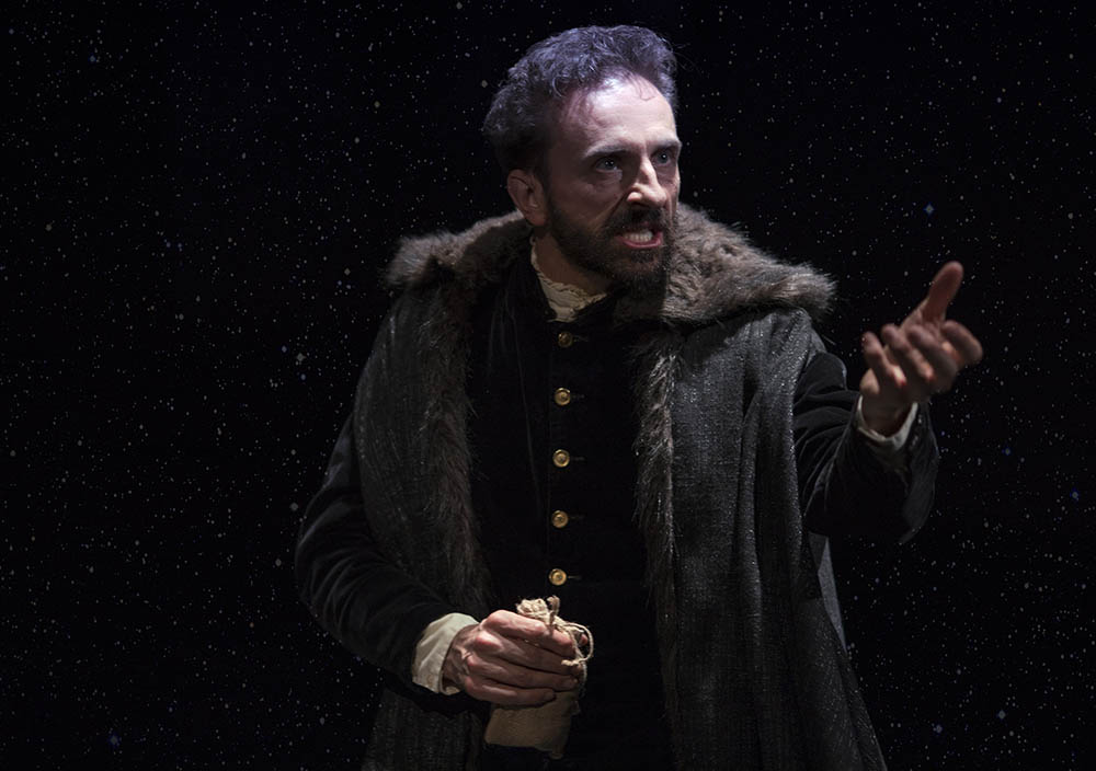 Mitchell Butel as Cardano in the Opera, Biographica. Jan 6th Sydney Festival 2017