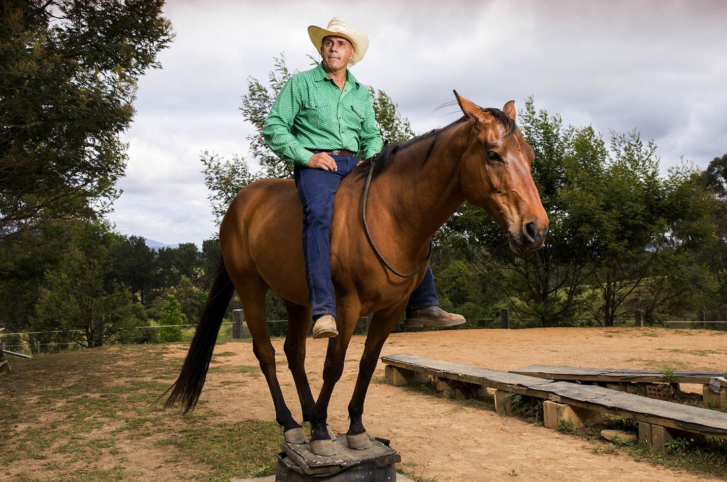 Adrian. Horse Whisperer from Moruya, NSW