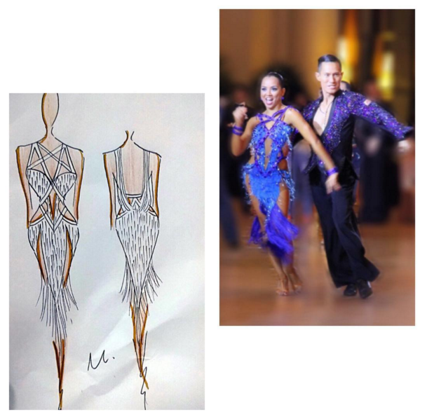 Having a dance costume that you really love and is comfortable dancing in adds a boost of confidence and will definitely be a factor to help you dance your best on the day of the competition.