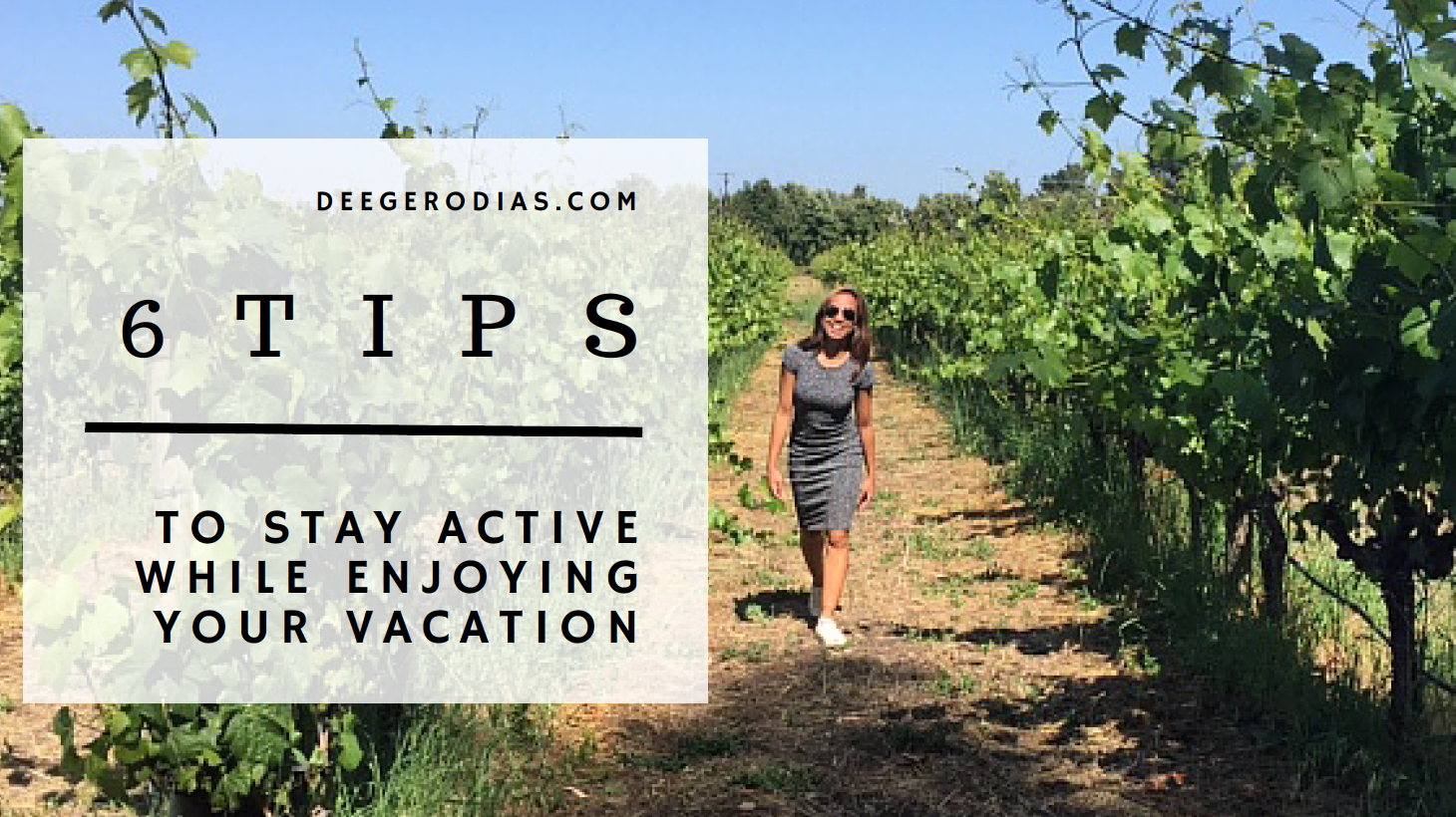 CALIFORNIA: Walked around vineyards in Napa Valley and Sonoma.