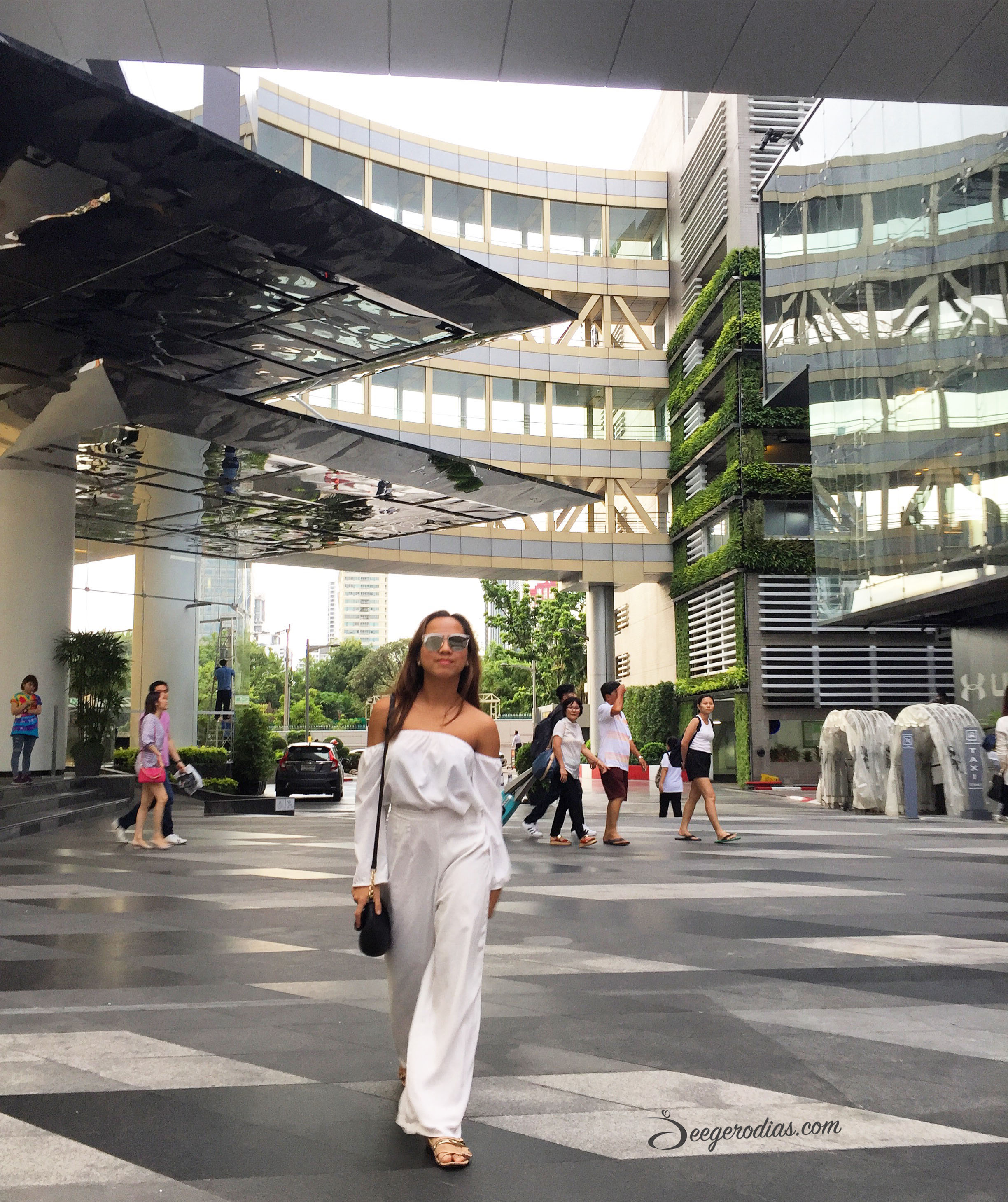 At  Siam Paragon :  And my favorite part about Bangkok? SHOPPING! There's something for everyone. From high-end brands to trendy fashion items at wholesale prices (I love   Platinum Fashion Mall   for this).