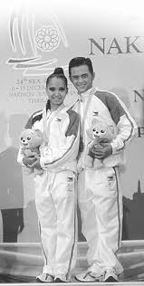 And again on the second time DanceSport made it to the SEA Games in Thailand in 2007.    Image Source