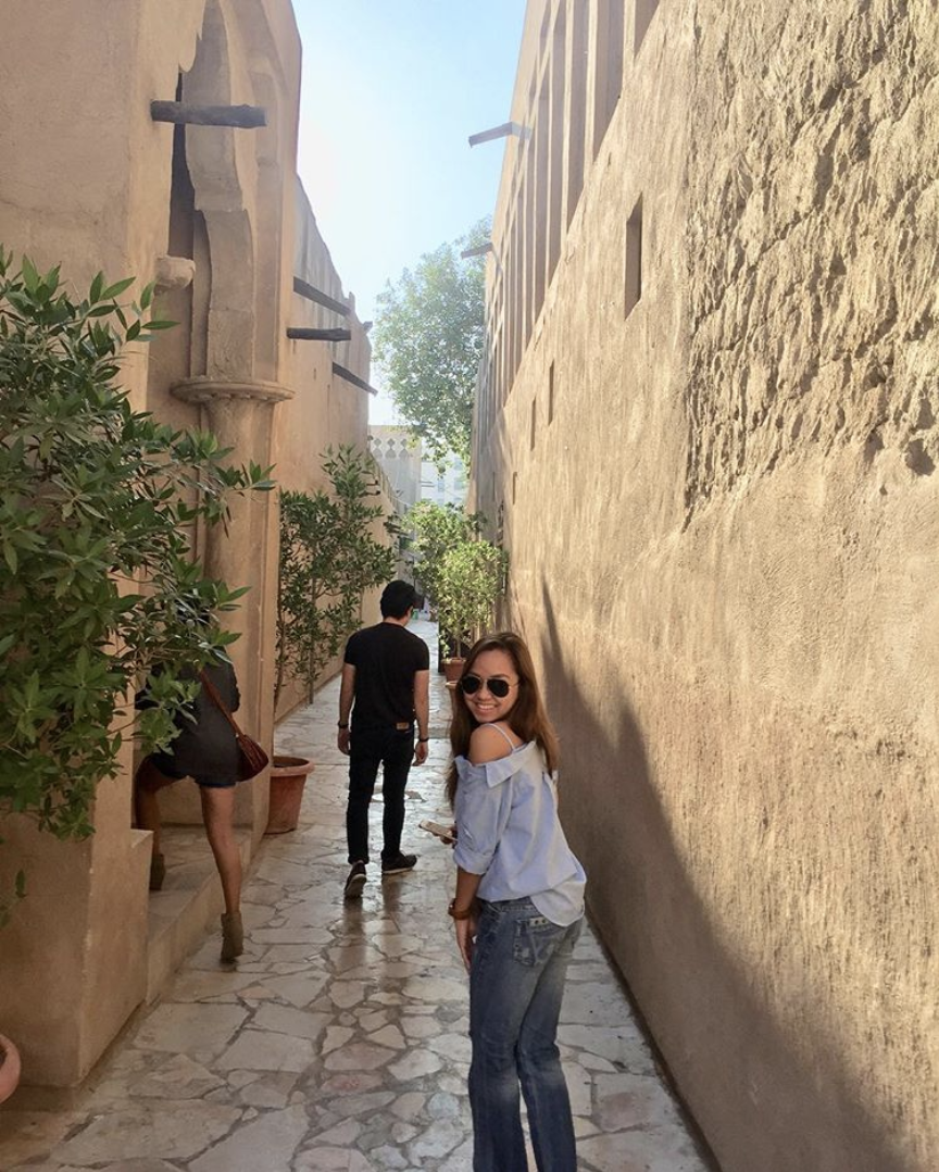 Exploring the streets of old Dubai