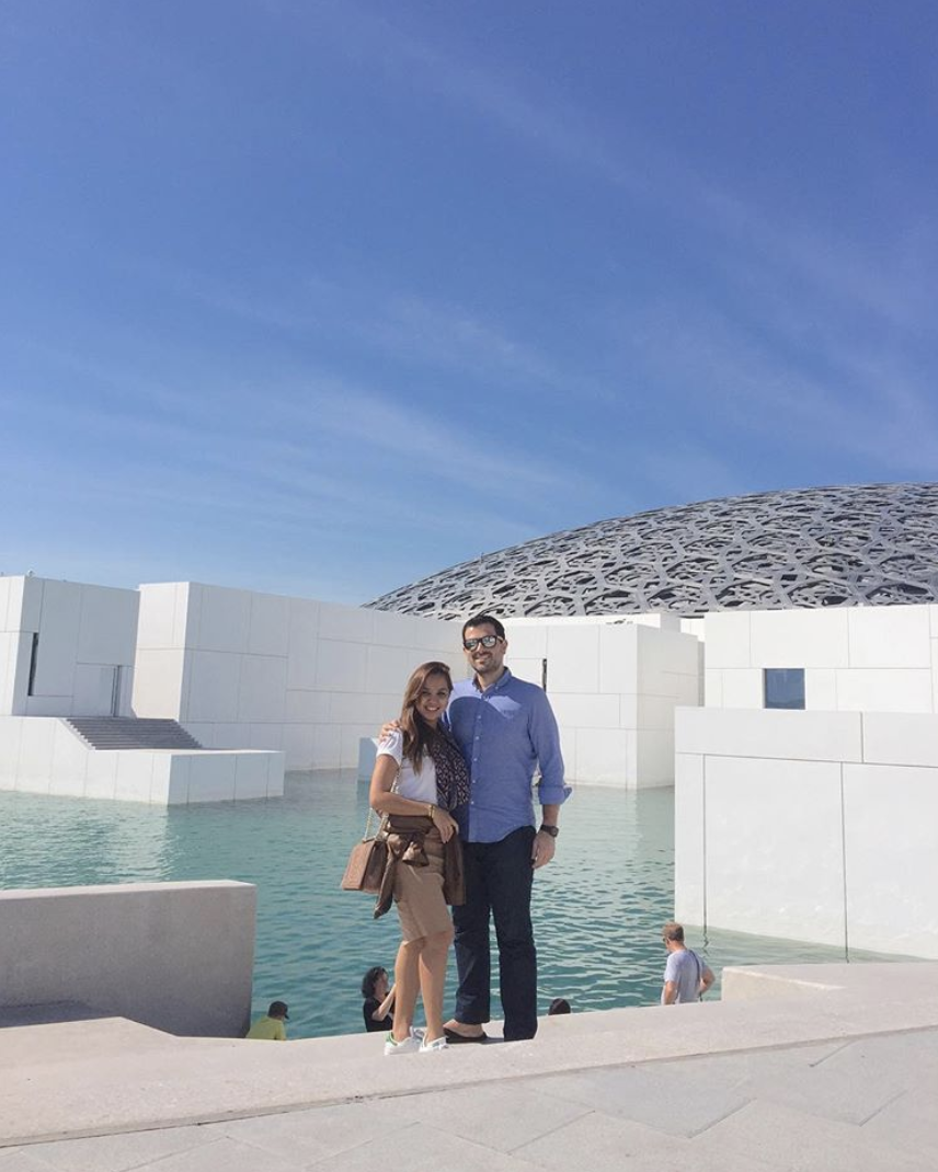 at the Louvre in Abu Dhabi