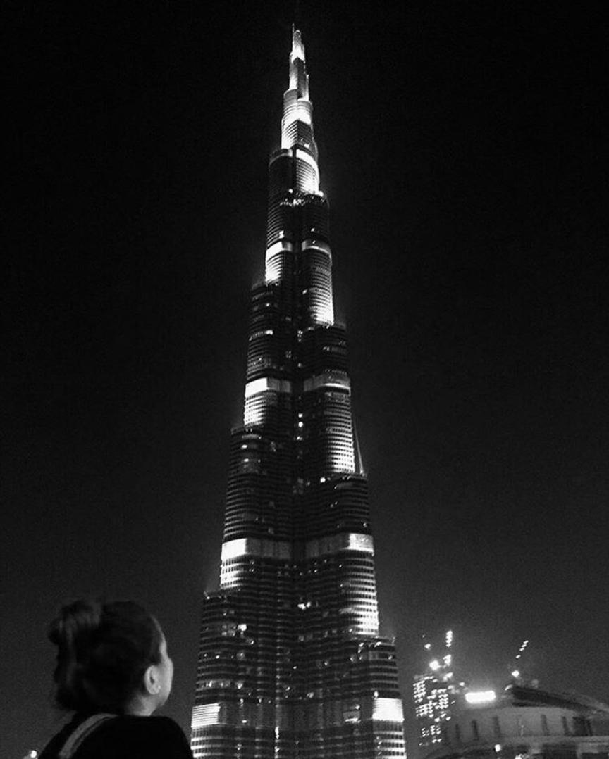 Small lady, big building... and big dreams 😉