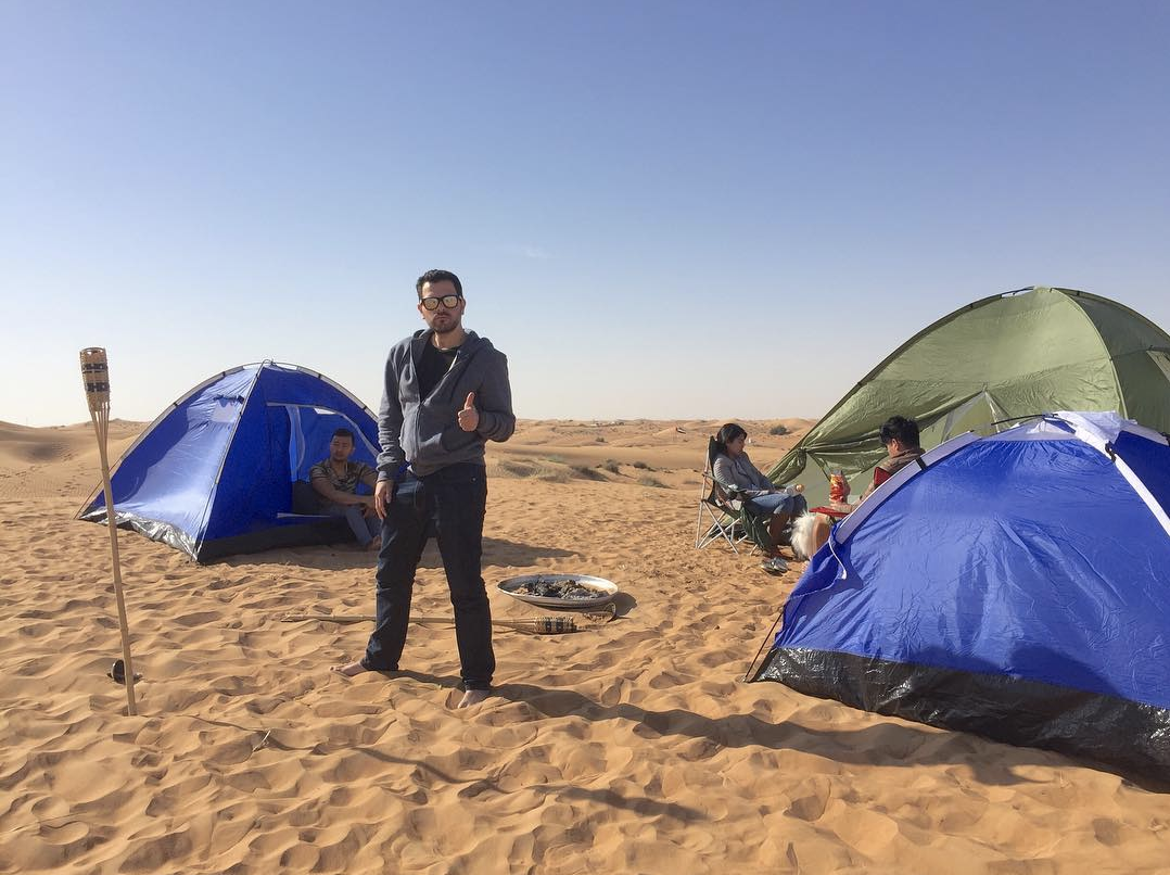 Woke up in the middle of the desert