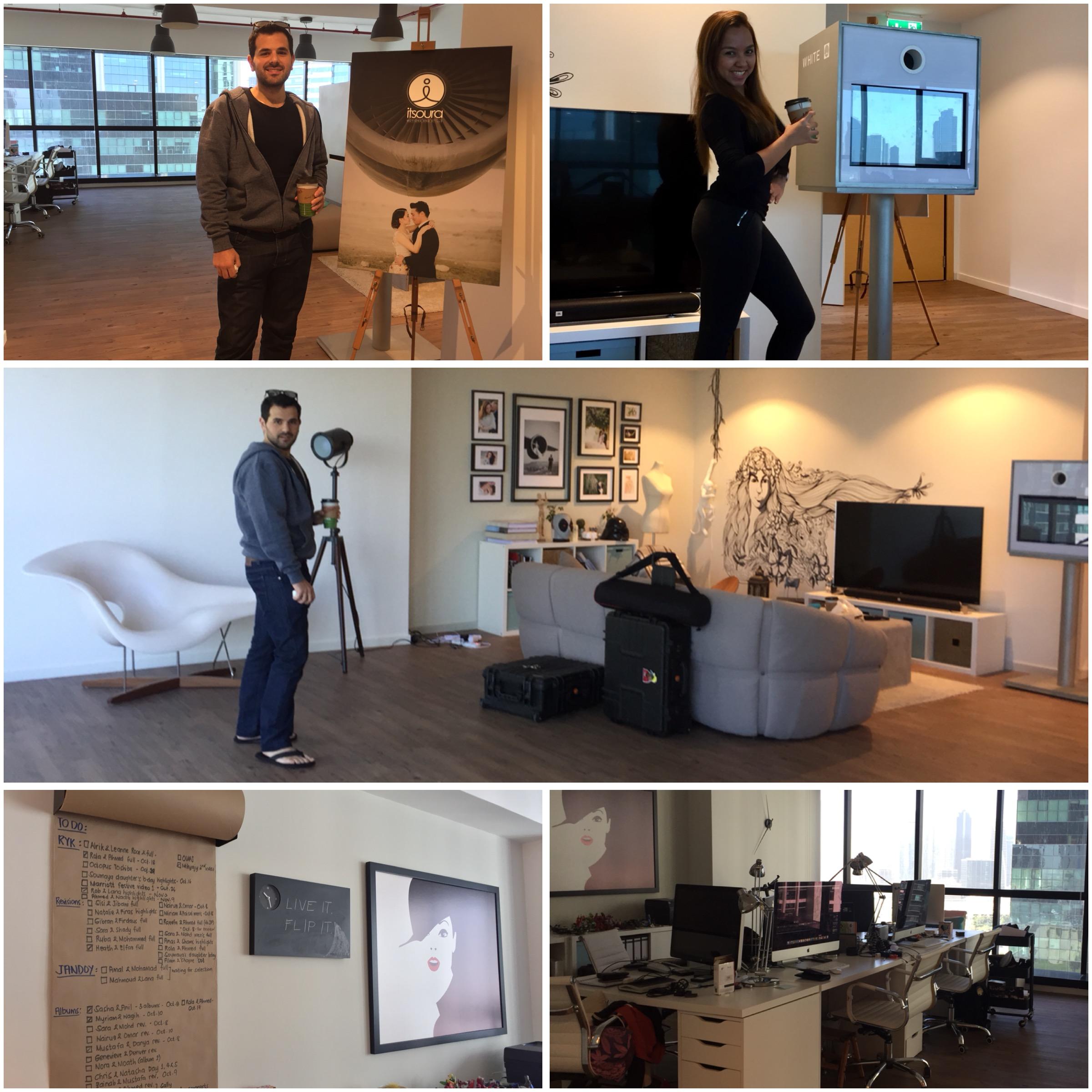 Visiting ItStudio's (Itsoura, Whitebox, Loud) Headquarters