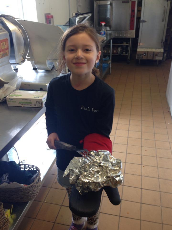 Eva at the Butcher Shop.jpg