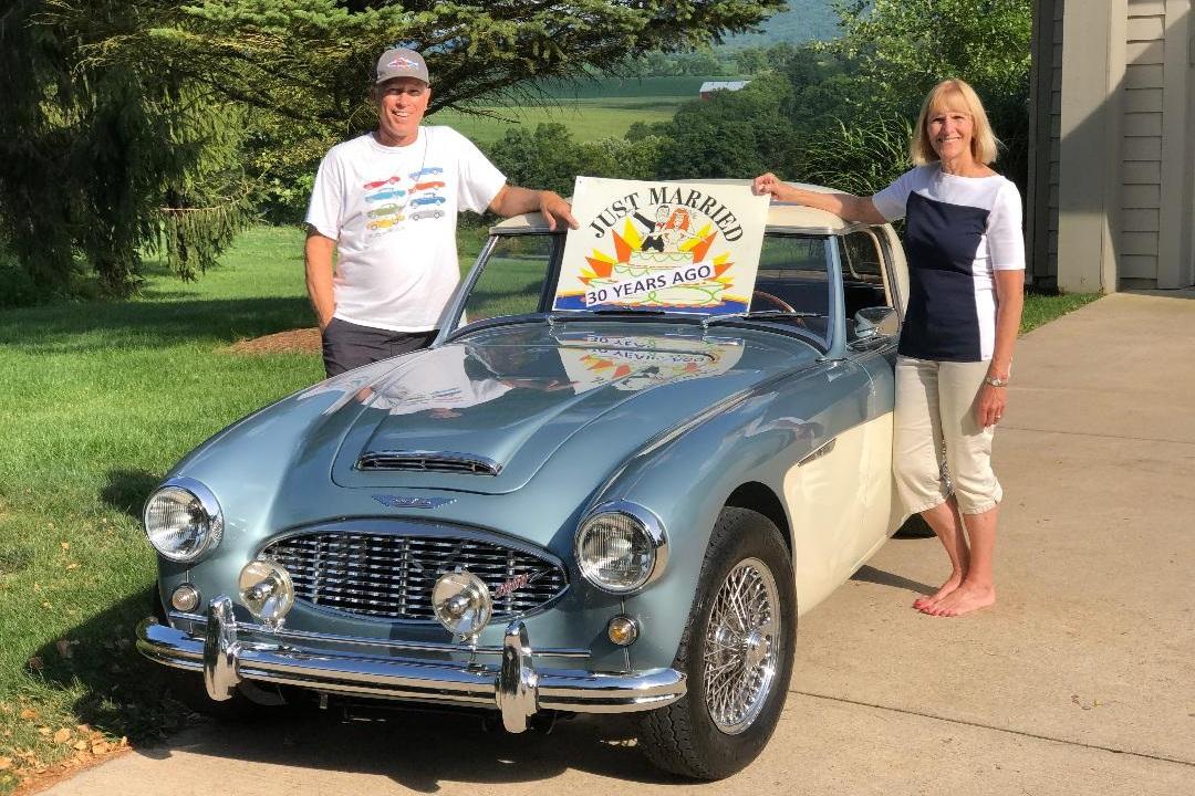 30th Anniversary - Mark Bigatel / Paula Bigatel1960 Austin Healey 3000