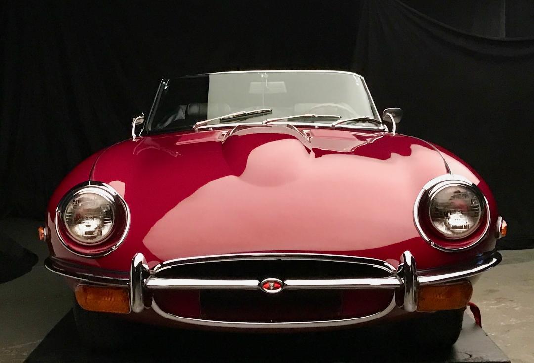 Real News - Alan Anspaugh / Robin Haynes1971 Jaguar E-Type