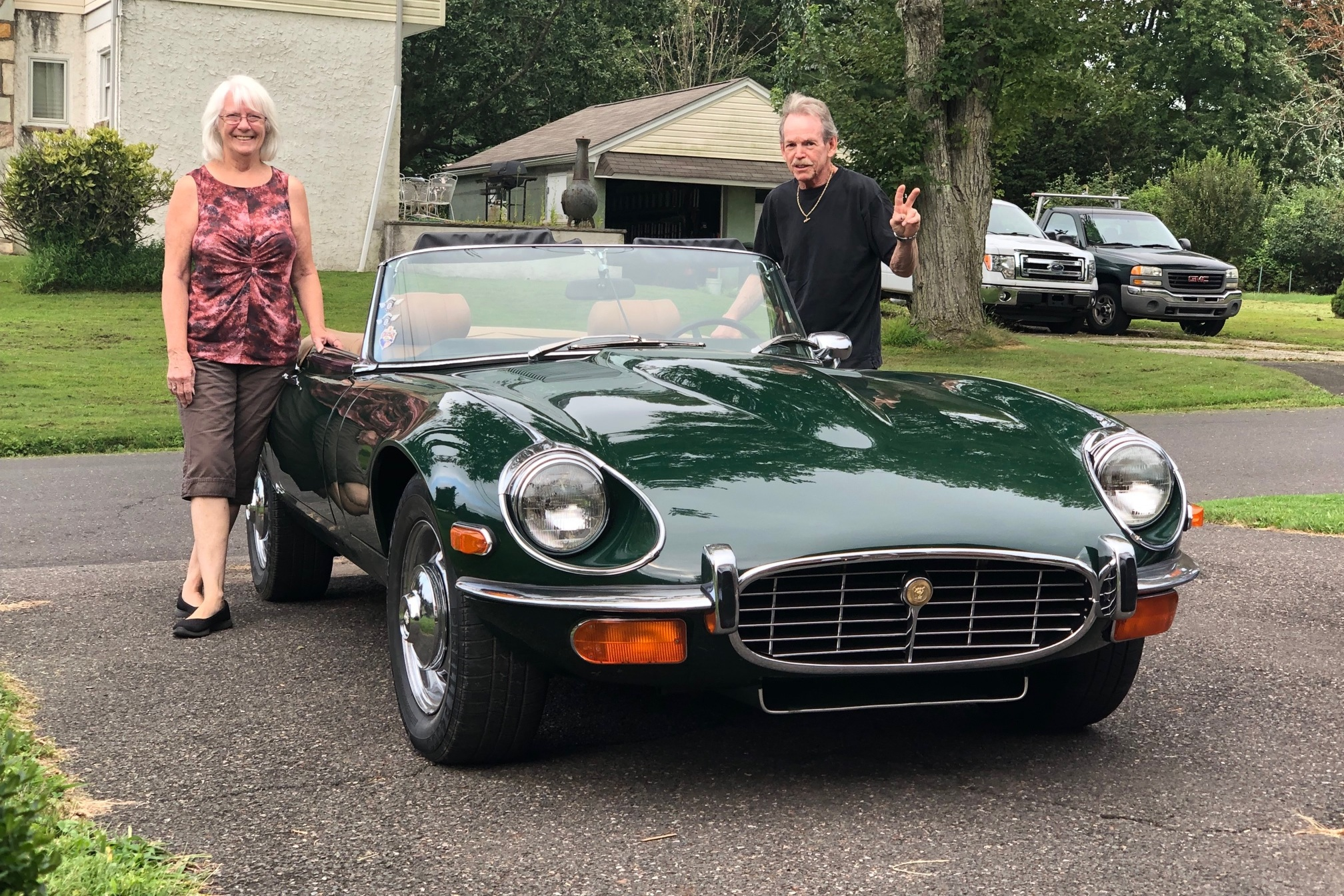 Jaguar Steve - Stephen Kress / Betty Kress1972 Jaguar E-Type