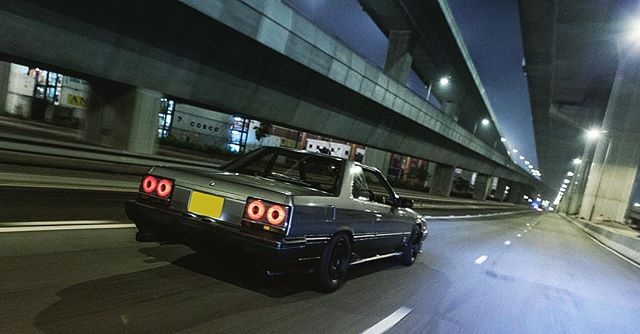 What a good evening. Welcome back! #classicsracer #nissan #r30 #skyline #hongkong #hk #852 #classiccarsdaily #852classic #nightdrive