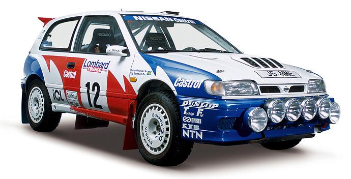 1992年 Nissan Pulsar GTI-R (S. Blomqvist/B. Malander team ROGER ALBERT CLARK RALLY race car)