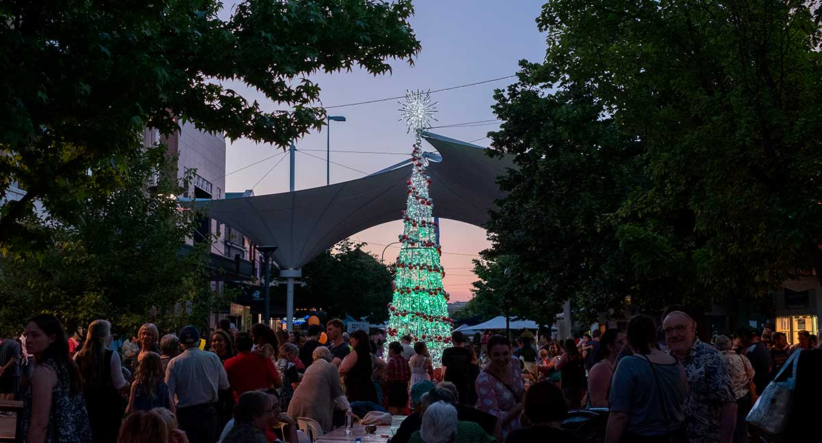 Activities include -  • Lighting of the Christmas Tree  • Live music & market stalls  • Meet Santa & his elves  • Shops will be open late  • DreamWorks Trolls!