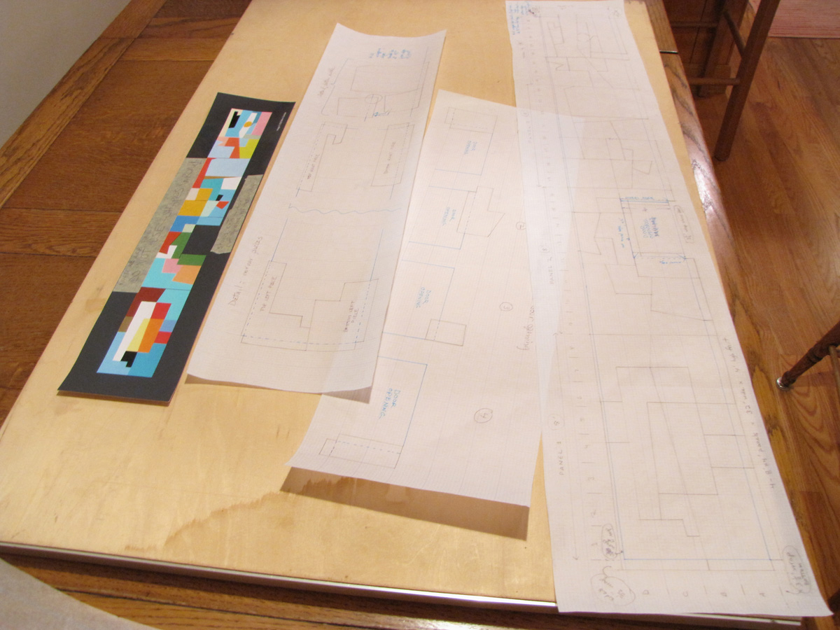 Instructions for cutting the aluminum pieces