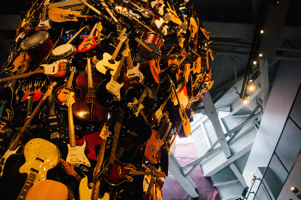 a tower of guitars? don't mind if i do