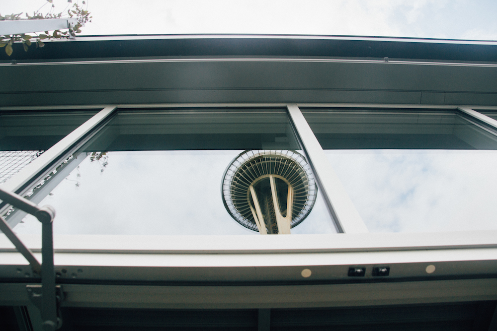space needle making a sneaky appearance