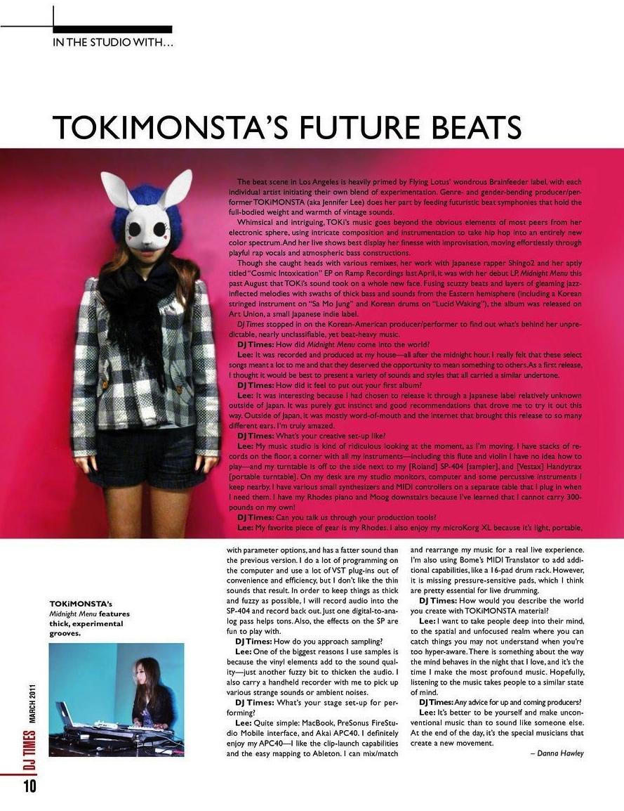 TOKiMONSTA - DJ Times