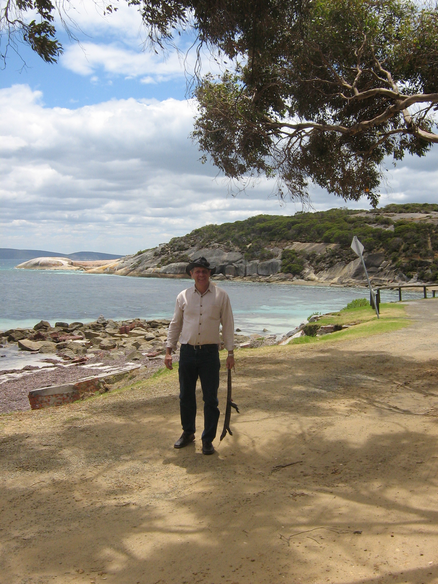 Harley Coyne, Noongar DIA Field Officer, Albany WA
