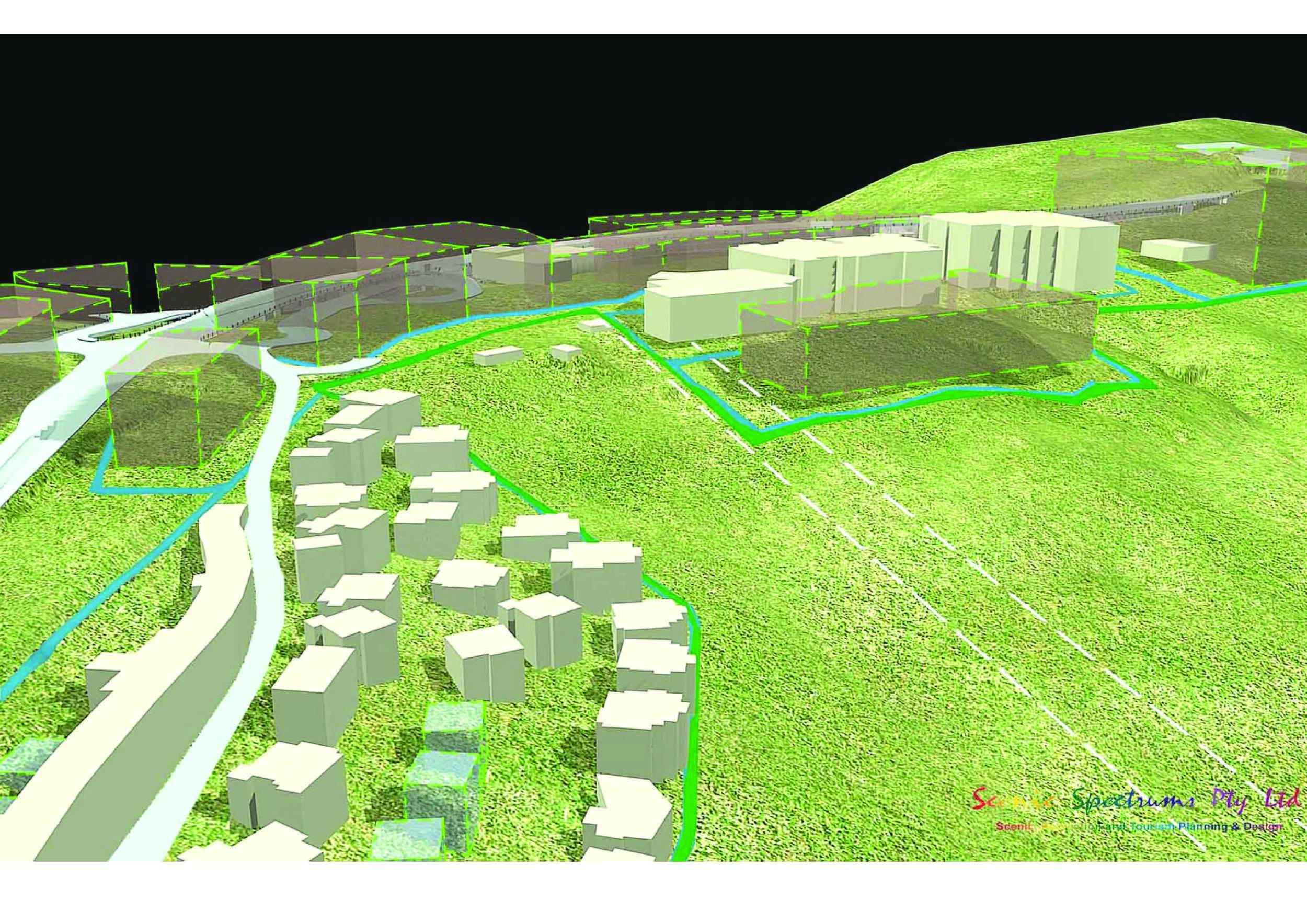 Hotham Village Redevelopment Simulation - Hotham Alpine Resort, Victoria