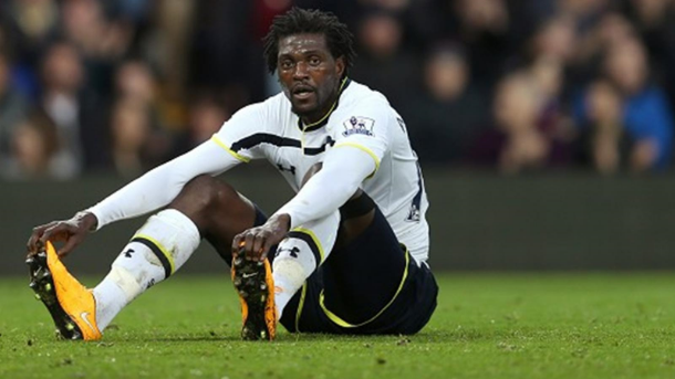 Emmanuel Adebayor: Used to like bus rides…..doesn't anymore