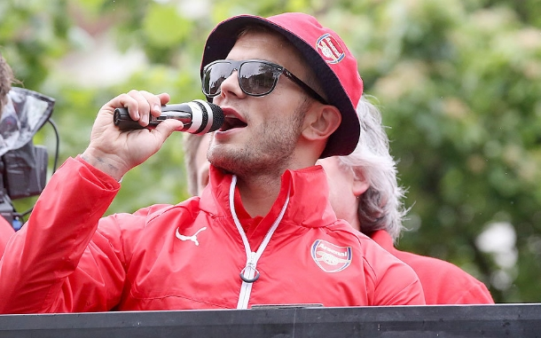 Jack Wilshere: Arsenal reserve team captain and certified moron