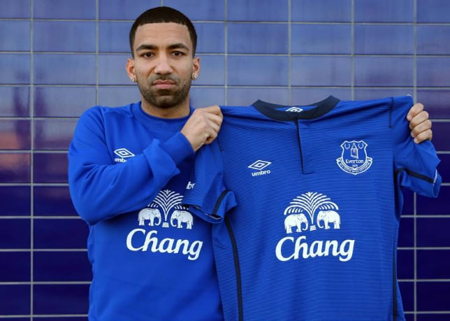 Aaron Lennon: Laughing on the inside