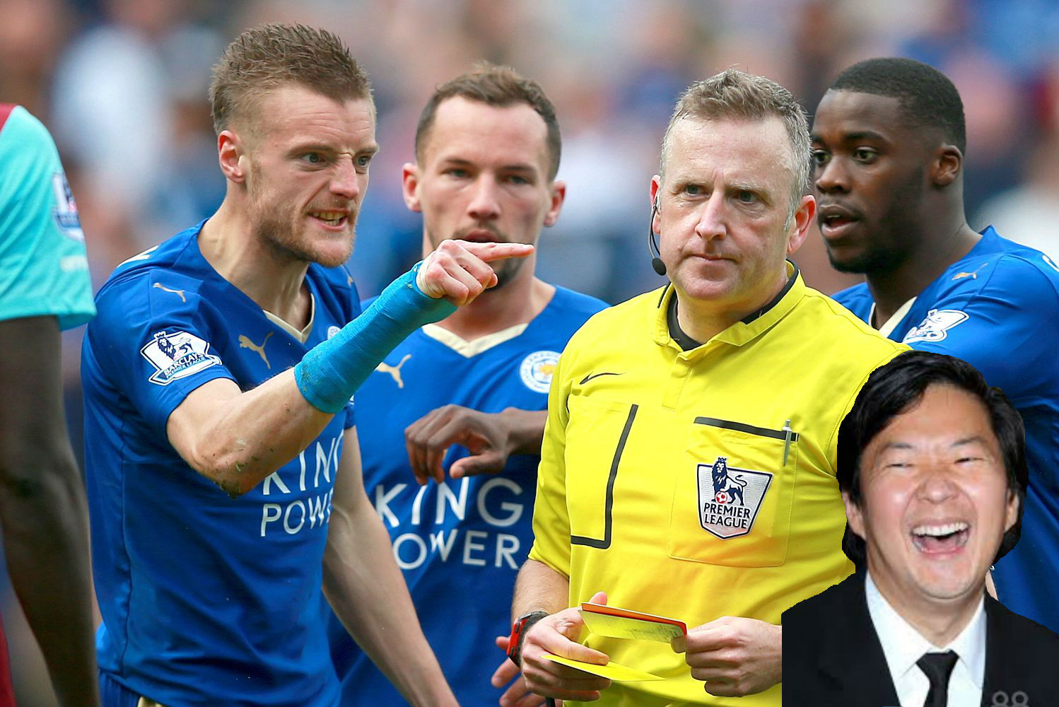 Jamie Vardy: Chat shit, get banned