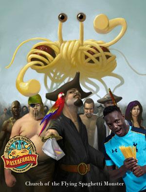Victor Wanyama: Pastafarian