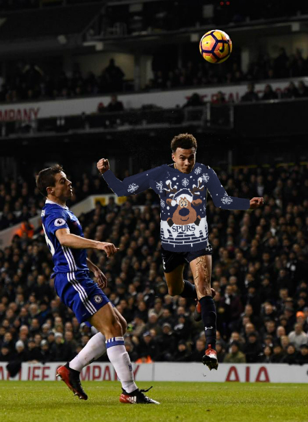 Dele Alli: Our very own little Christmas jumper........