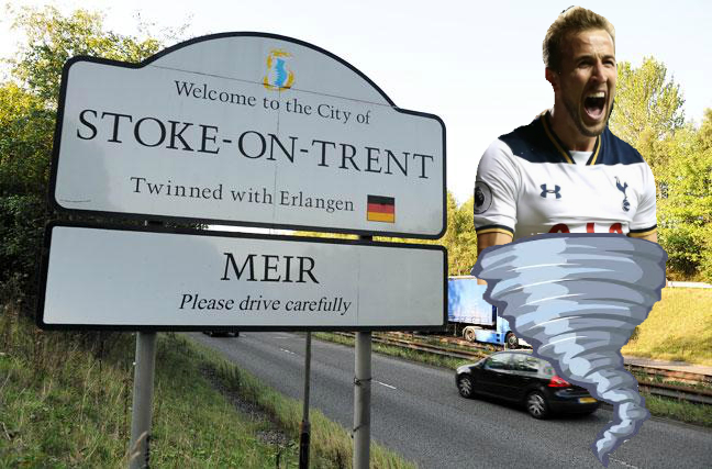 HARRY KANE: THE WORST THING TO HAPPEN TO STOKE-ON-TRENT SINCE THE CREATION OF STOKE-ON-TRENT