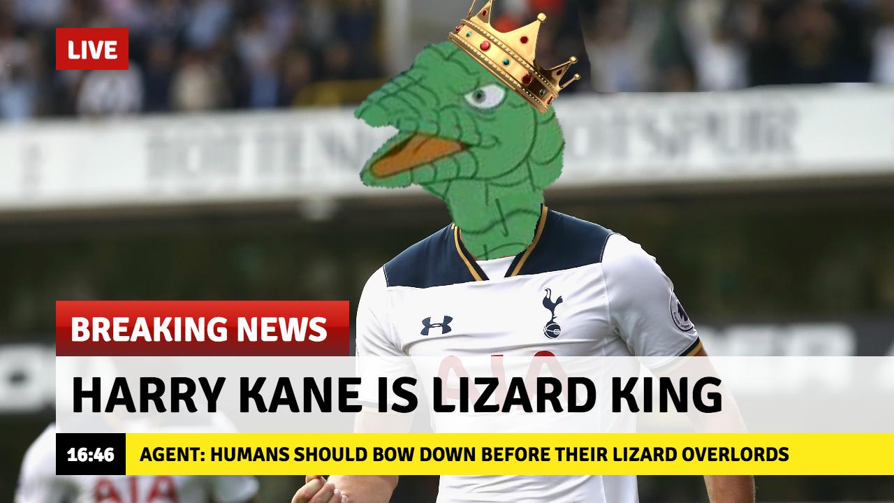 Media coverage of Tottenham this season: #fakenews