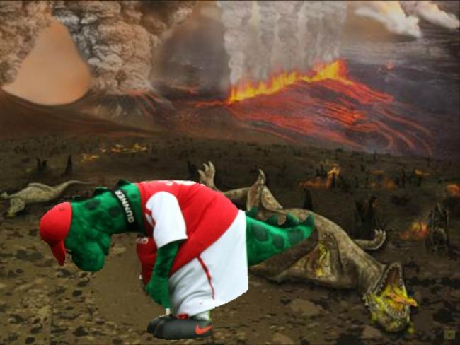 Gunnersaurus: Sure, I am alive.....but why?