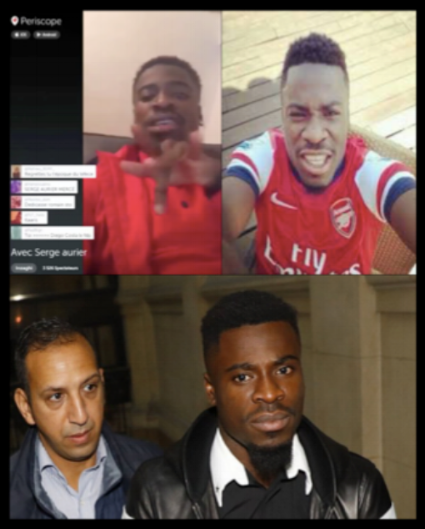 Serge Aurier: He may be a homphobe and a criminal but at least he isn't an Arsenal suppor.....oh, for fucks sake!