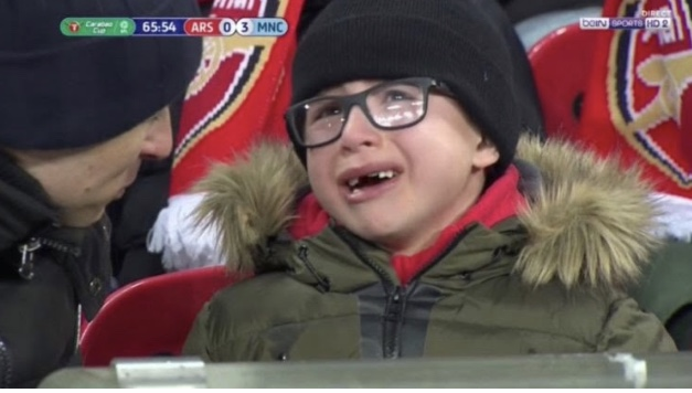 Arsene Wenger: Making kids cry since 1996