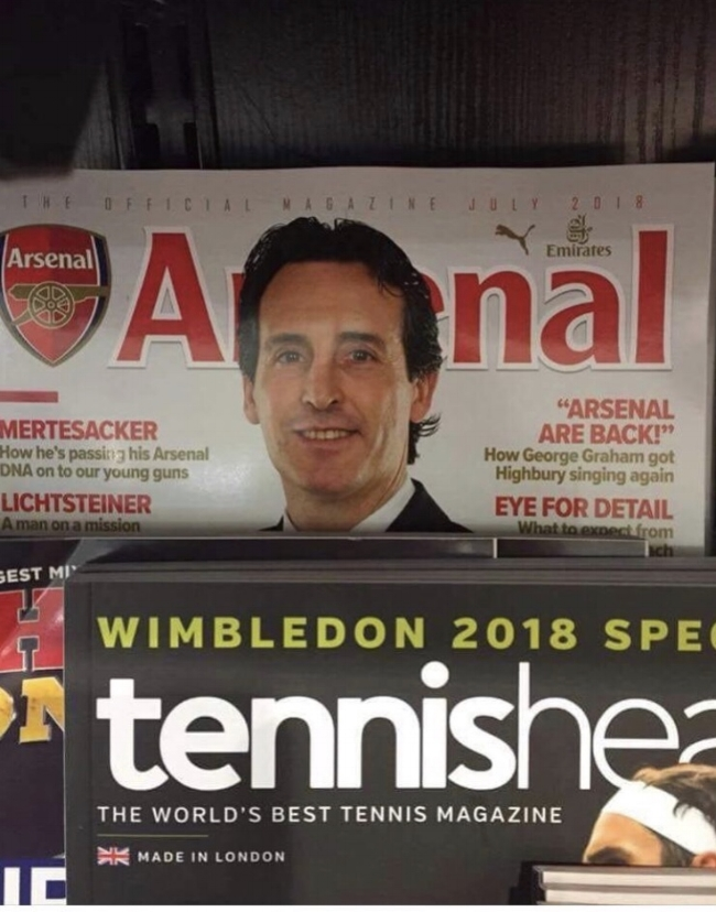 Unai Emery: He will fit right in at Arsenal.....so long as he is gentle and uses lubrication