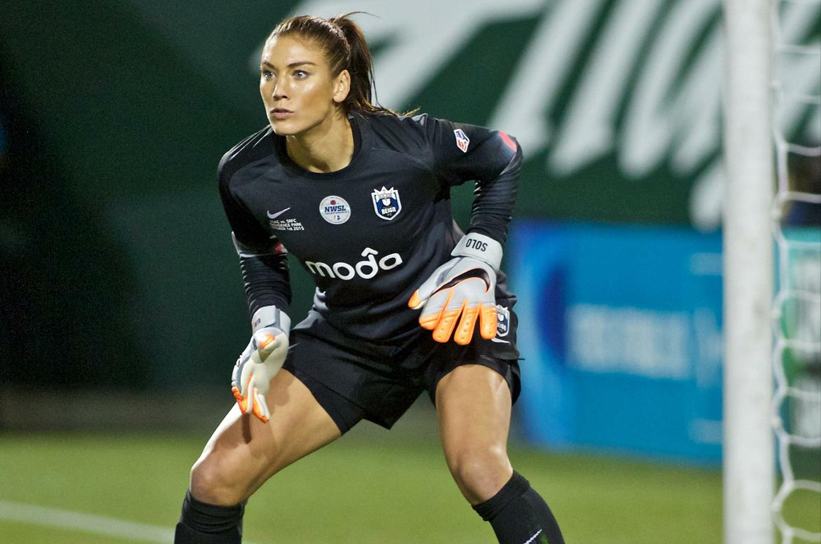 Hope Solo: Proof that not all hope will kill you…..unless you're the one who leaked the photos, of course.