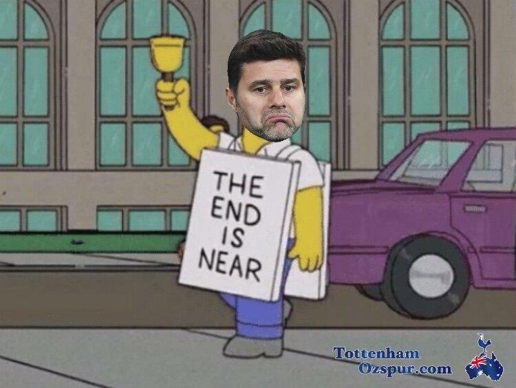 Tottenham fans on soCial media be like…….