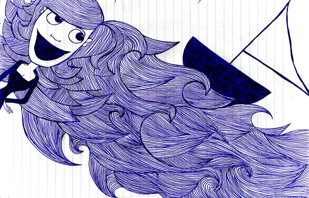 Drawing_She set sail.jpg