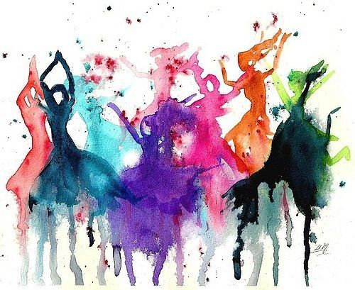 Clean for Good blog - dancers watercolour