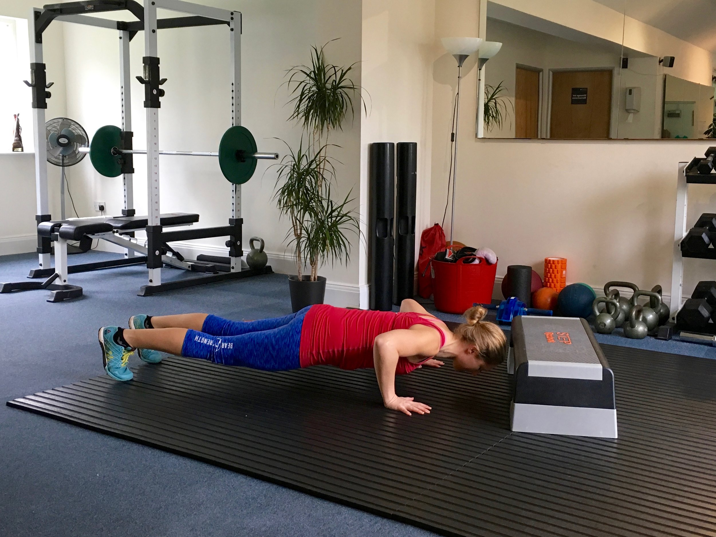 Press Up Burpee Box Jump  Click  HERE  for video